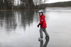 Skridskor (Anders Sellin) Tags: barn children is sweden skate sverige tena ka skridsko skridskor kning ginordicjan12 cvinter