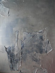 Silver, Acrylics and mixed media on canvas, 90x100cm (anna laurini) Tags: abstract art contemporaryart contemporary modernart paintings abstractexpressionism mixedmediaoncanvas annalaurini eastlondonart