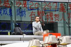 Un certain sens de la provocation. (XavierParis) Tags: china hongkong nikon asia asie xavier xavi chine hernandez wanchai iberica actu faitdivers 20112011 d700 xavierhernandez xyber75 lauchiyan xavierhernandeziberica