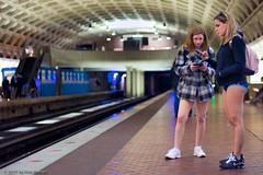 Where do the Pantless Keep Their Cell Phones? (darango) Tags: subway dc washington ride metro nopants pantless improveverywhere nopantssubwayride nopantsmetroride capitolimprov dcnopantsmetro