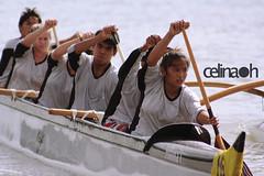 Unity is strength... when there is teamwork and collaboration, wonderful things can be achieved. (celinaaarem) Tags: school photoshop canon project lens eos rebel hawaii high o lagoon na canoe adobe kai ke honolulu 365 xs paddling radford opio cs3 366 keola ef75300mm keehi