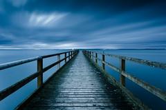Rügen / Far away (96dpi) Tags: longexposure clouds see pier meer wolken balticsea anleger ostsee langzeitbelichtung sassnitz seebrücke