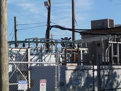 Top of rebuilt sub (en tee gee) Tags: newyork transformer longisland substation 4kv 23kv