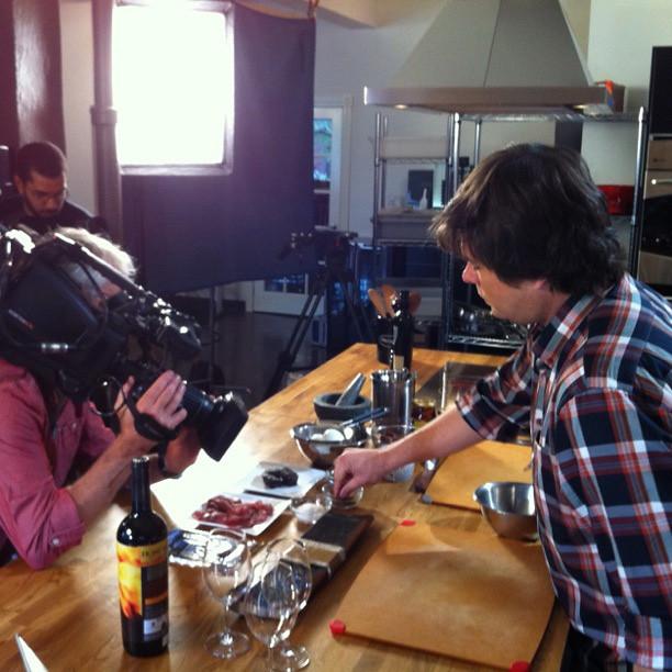 Papilles en tournage. Épisode 1