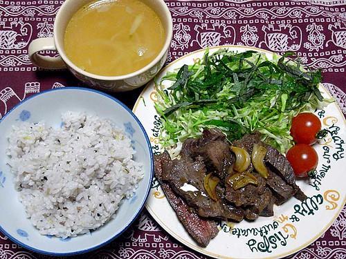 2012年1月11日の晩ご飯