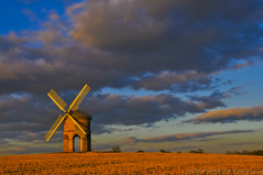 Late Afternoon @ Chesterton Windmill (JRT ) Tags: trees wallpaper sky sun window windmill clouds nikon arch wheat bricks sails sunny flour chesterton lateafternoon chestertonwindmill d300s ad1632 johnwarwood flickrjrt