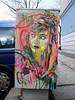 C215 - Berlin 2012 (Antonia Schulz) Tags: street city urban woman streetart berlin art girl face germany deutschland graffiti stencil gesicht arte box kunst strasse cité urbanart sidewalk stadt urbana rue farbe figur 2012 kasten urbain pochoir schablone strase berlinstreetart c215 öffentlicherraum