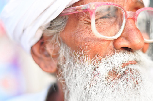 An Old Man from Punjab [EXPLORED]