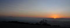 Shropshire Sunrise (Steve Bird1) Tags: sunrise shropshire hill wrekin lyth