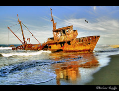 The Missing Ship ! (Bashar Shglila) Tags: sea sky lost boat ship seagull libya tripoli drifting    ghot     erroman mygearandme mygearandmepremium mygearandmebronze mygearandmesilver mygearandmegold mygearandmeplatinum mygearandmediamond dblringexcellence tplringexcellence  eltringexcellence  shipwirck