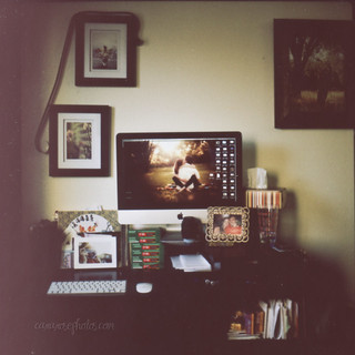 this little instant: my space.