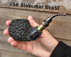 Blakemar Beast. (ADz Flickr) Tags: rustic pipes pipe smoking beast tobacco briar pipesmoking smokingpipes blakemarbriars blakemar