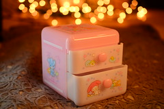 My Melody Desktop Chest: Friendship (Suki Melody) Tags: hello bear christmas pink holiday cute rabbit bunny mushrooms mouse lights squirrel flat cabinet box magic chest kitty jewelry case sanrio collection container plastic melody kawaii strings characters suki drawers enchanted mymelody desktip