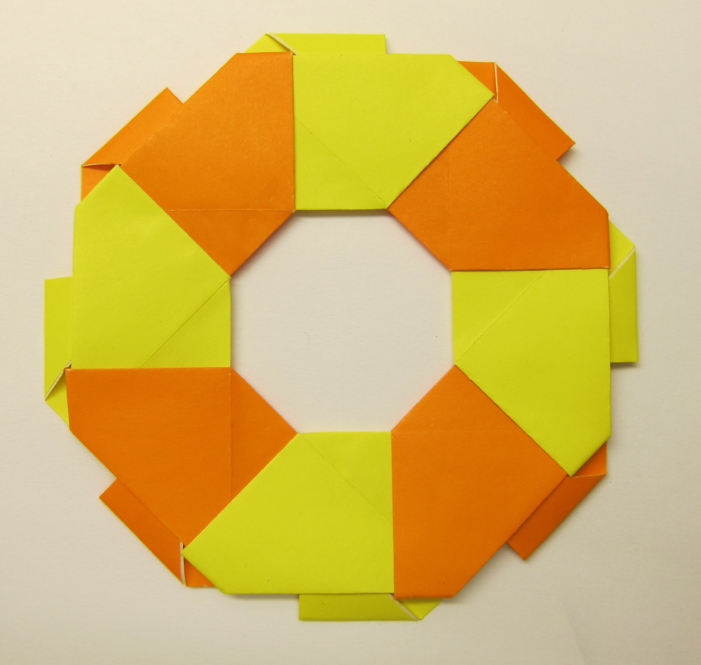 Tomoko Fuse Origami Rings Wreaths Pdf Tutorial Lets Make It Diagrams Image Collections Craft Decoration Ideas