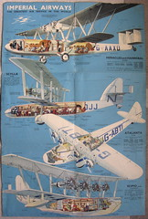 Imperial Airways brochure - types of aircraft, c1935 (mikeyashworth) Tags: scipio hannibal atalanta 1935 scylla heracles speedbird imperialairways airlineephemera rowlandhilder mikeashworthcollection