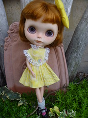 Rudi is loving her new dress from Mab Graves wonderful vintage collection!!!