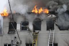 Washingtonville(NY)FD East Main St. Job 01-23-12 (Ville Pipeman) Tags: county orange ny st fire main east trucks firefighters nys fd washingtonville