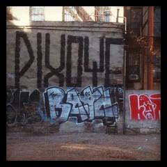 PIXOTE (themostshady) Tags: nyc les graffiti big lowereastside roller pixote