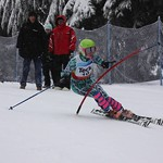 Teck Enquist Slalom, January 2012, Mt. Seymour - Gabby Smith (WMSC) PHOTO CREDIT: Steve Fleckenstein