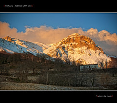 Rigopiano - Alba sul Gran Sasso (Andrea di Florio) Tags: trees winter mountain alberi clouds sunrise landscape solitude nuvole alba pace inverno montagna paesaggio abruzzo nubi gransasso serenit supershot rigopiano bestcapturesaoi elitegalleryaoi mygearandmebronze musictomyeyeslevel1 andreadiflorio flickrstruereflection1 flickrstruereflection3 flickrstruereflection4 flickrstruereflection5 flickrstruereflection6 flickrstruereflection7 flickrstruereflectionexcellence trueexcellence1 trueexcellence2 trueexcellence3