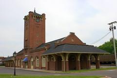 Kingsport, TN Clinchfield Passenger Depot (SeeMidTN.com (aka Brent)) Tags: station train tn tennessee depot passenger 1916 cco sullivancounty kingsport crr clinchfield bmok bmok2 bmokdepot