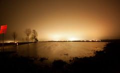 Flooded Field (2nd Attempt) (baumbaTz) Tags: canon 500d rebel t1i kiss x3 walimex samyang fisheye 8mm fischauge longexposure le night water halo