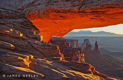 Mesa Arch (James Neeley) Tags: sunrise landscape canyonlandsnationalpark mesaarch jamesneeley flickr24
