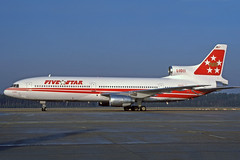 N31001 (Five Star Airlines) (Steelhead 2010) Tags: lockheed tristar nue l1011 fivestar nreg n31001