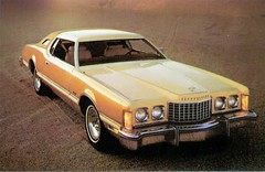 1976 Ford Thunderbird with Cream and Gold Luxury Group (coconv) Tags: pictures auto door old 2 two classic cars ford hardtop car vintage magazine ads advertising cards gold photo flyer automobile with post image photos antique album postcard group ad cream picture images advertisement vehicles photographs card photograph postcards vehicle autos collectible collectors brochure thunderbird luxury coupe automobiles 1976 dealer 76 prestige