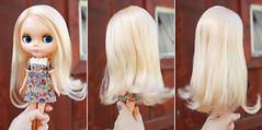 Hair After (Squirrel Junkie) Tags: blonde finished restoration kenner blythe spa kb sidepart squirreljunkie