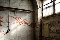 Crop (Nick Forslund) Tags: chicago window graffiti marcus harris urbex harrismarcus