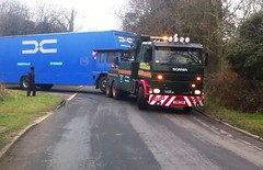 N.C.Cammack Scania 142 Recovery wagon (South Strand Trucking) Tags: london classic yard docks truck vintage rust furniture transport pickup international lorry commercial workshop repair trucks van heavy mechanic essex colchester 141 142 v8 recovery towing scania swede waggon 143 lorries wrecker haulage hgv rigid coachbuilt pickfords pantechnicon coachbuilders