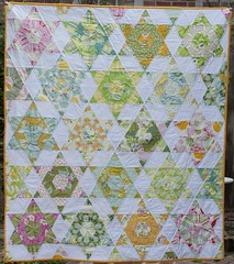 Hexagon Quilt Front (explore) ({safieh}) Tags: giveaway quilts kona 12in12 hexagonquilt niceyjane