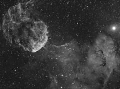 IC 443 - The Jellyfish Nebula (Danny Flippo) Tags: astrophotography ha gemini astrophoto hydrogenalpha ic443 Astrometrydotnet:status=solved Astrometrydotnet:version=14400 Astrometrydotnet:id=alpha20120290031504