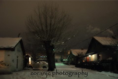 One cold winter night (zoranjc) Tags: winter night nacht hiver serbia january inverno nuit zima januar 2012 no bor srbija flickraward zjk nikonflickraward zoranjc