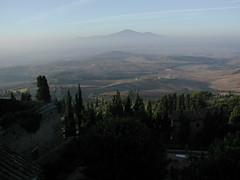 "The view from my hotel in Pienza, Tuscany • <a style=""font-size:0.8em;"" href=""http://www.flickr.com/photos/75865141@N03/6814705625/"" target=""_blank"">View on Flickr</a>"