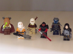 Swtor- figures (Legonardo Da Bricki) Tags: old star republic lego da wars bricki swtor legonardo