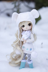 My hands are freezing (Valrie Busymum) Tags: dal groove pullip obitsu byul dotori