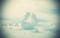 (6/52 weeks) (Karol Petrucci) Tags: hello blue sky azul nikon cu oi nikond60