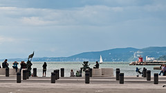 A sunday afternoon in Trieste (TheSpaceWalker) Tags: ocean sea people urban italy sailboat walking boat nikon italia mare ship zoom sigma 28 fvg trieste adriatic adriatico 70200mm d300 thespacewalker