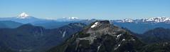 Panorama Cumbre San Sebastin (Mono Andes) Tags: chile panorama andes sierranevada volcn parquenacional chilecentral parquenacionalhuerquehue regindelaaraucana volcntolhuaca volcnlonquimay nevadodesollipulli volcnllaima fotocumbre
