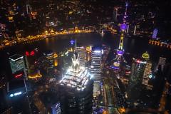 SWFC @ Night - Image 80 (www.bazpics.com) Tags: china city tower glass skyline skyscraper radio tv shanghai centre area pearl tall oriental pudong financial jinmao lujiazui swfc