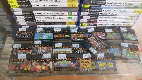 Atari Lynx Games