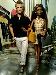 Fashion Royalty (krixxxmonroe) Tags: brown black sexy male beautiful fashion race mixed model fierce ryan d pierre couples monroe latino makeda ira adele royalty racial styling inter devries krixx