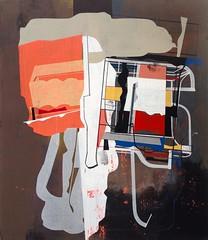 Jim Harris: Probe VIII (Jim Harris: Artist.) Tags: art geometric painting mfa arte contemporaryart space kunst jim konst harris cosmos cosmology neogeo knstler duxbury contempornea museumschooloffinearts geometrick