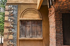 And a closed window. (Tungmay Pimjoy) Tags: wood window thailand nikon rustic shutters d7200