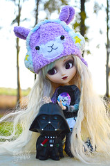 Happy Star Wars day! (Sia ) Tags: star doll darth pullip wars vader adsiltia