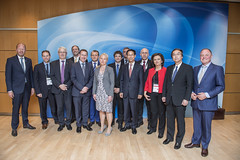 The Ministers' Roundtable attendants pose for group photo