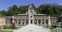Old salt factory (visionality01) Tags: summer architecture germany bayern deutschland bavaria spring bad saline reichenhall