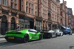 The colours of London (Beyond Speed) Tags: london sport nikon huracan turbo porsche rangerover lamborghini v10 supercars automobili v12 svr aventador novitectorado